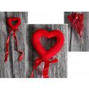Valentinstag Herz auf dem Gipfel 6x26 cm - 1 Stück