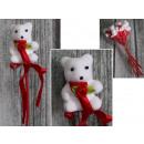 Valentin medve íjjal a csúcson 7x36 cm - 1 st