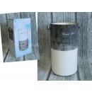 Großhandel Pflanzen & Töpfe: Vase, zweifarbige  Keramik Blumenkunst 1