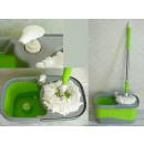 hurtownia Srodki & materialy czyszczace: Wiadro mop wirowy,  obrotowy + mop prostokątny bez