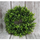 nagyker Kert és barkácsolás: Koszorú zöld boxwood 25 cm