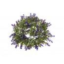 Dekoratív lila levendula koszorú 26 cm