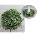 Ghirlanda decorativa verde 30 cm