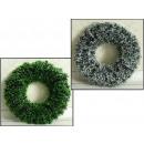 nagyker Otthon és dekoráció:Koszorú zöld lánc 38 cm