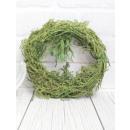 Ghirlanda ghirlanda decorativa verde muschio 20 cm