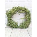 Ghirlanda ghirlanda decorativa verde muschio 25 cm