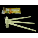 wholesale Bath Furniture & Accessories: Towel rack, plastic cloth 26 cm