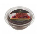 Torta al profumo di cera al cioccolato con ciliegi