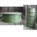 Szalag organza 99 hemlock-green25mm x 22.75m -
