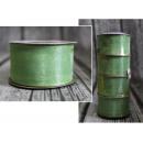 Szalag organza 99 hemlock - zöld 38mm x 22,75m