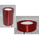 groothandel Stationery & Gifts: Lint, rood lint, 23 m lang, 2,5 cm breed