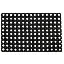 groothandel Tapijt en vloerbedekking: Wisserrubber honingraat 60x40 cm