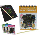 Creative Scratchpad - spirál notebook 10x14 cm
