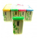 wholesale Organisers & Storage: Toothpicks babmus  -1 piece in a plastic container