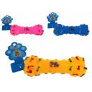 Kutyajáték gumi csont 14 cm keverék szín - 1 db