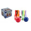 nagyker Dekoráció: Fa játék bowling készlet játékcsomaghoz