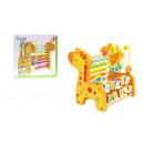 nagyker Dekoráció: Fa zsiráf abacus játék a tanuláshoz számolni