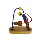 Wooden puzzle toy, educational loop 11x6x
