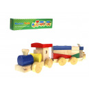 Wooden train toy 45x6,5x12 cm