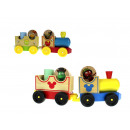 Wooden toy train 22x8x4.5 cm