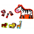 Wooden toy pet 1 piece mix models