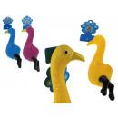 Kutyagumi játék nyikorgó madárkeverék szín 22