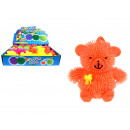 Großhandel Spielwaren: Spielzeuggummi LED Stacheln 9 cm - Bär - 1 Stk