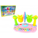 Interactive toy organ-rattles swing pair