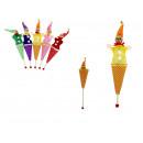 Cône de marionnette jouet 15 cm mélanger couleur -