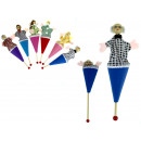 wholesale Toys: Toy marionette cone 25 cm mix color - 1 piece