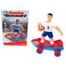 Toy elemek sportolók egy gördeszkás 20x13x