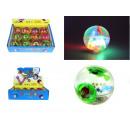 Spielzeug LED Ball mit Wasser 5,5 cm - 1 Stück