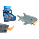 Toy squeezed funny shark 10x3 cm - 1 pcs