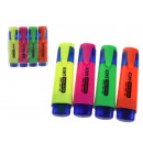Highlighters, highlighters, 4 pieces in a case