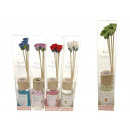 wholesale Cleaning: Smell with sticks  with aromatherapy flowers 50ml