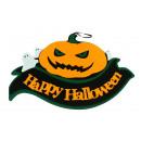 Ciondolo, vetrate, sintonizzatore Happy Halloween