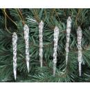 Ciondoli per ghiaccioli in plastica albero di Nata