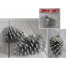 Coni pendenti decorativi naturali 10-12 cm 2
