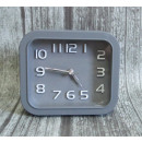 Clock alarm clock rectangle 13x11,5 cm
