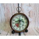 wholesale Clocks & Alarm Clocks: Stylish alarm clock, aged on the legs 13 cm