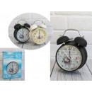 Sveglia orologio fiori tradizionali 16.5x11,5x5,5
