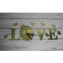 wholesale Clocks & Alarm Clocks: Clock glued to the mirror wall of love