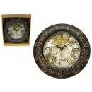Großhandel Uhren & Wecker: Wanduhr Stil (eine  römische Ziffer) 24 cm