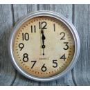 Orologio da parete tradizionale tondo argento 38 c