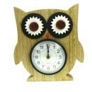 wholesale Clocks & Alarm Clocks: Owl clock 23x20 no: 818392