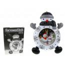 Großhandel Kinder- und Babyausstattung: Uhr, Wecker für  Kinder 20 cm Schneemann