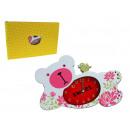grossiste Materiel d'enfants et de puericulture: Horloge, réveil  des enfants d'ours 23x15 cm
