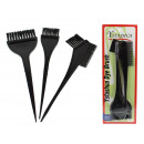 wholesale Drugstore & Beauty: A set of 3 hair dye brushes for a blister