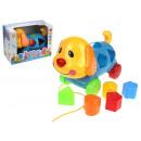Großhandel Spielwaren: Autospielzeugset, Hundesortierer + Blöcke im Karto