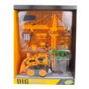 Großhandel Modelle & Fahrzeuge: Bausatz Auto + Kran Karton 40x31x13